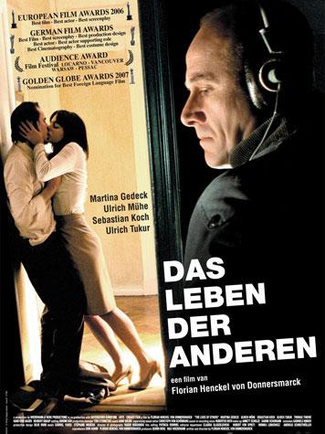 "Cartell de la pel·lícula ""Das Leben der Anderen"" de Florian Henckel von Donnersmarck (2006)."